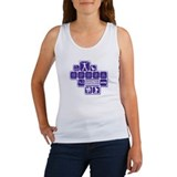 CPDSA NYC Women's Tank - White/Purple box design