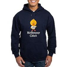 McSteamy Chick Hoodie (dark)