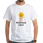 McDreamy Chick White T-Shirt