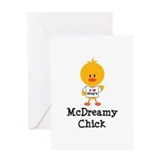 McDreamy Chick Greeting Card