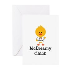 McDreamy Chick Greeting Cards (Pk of 20)