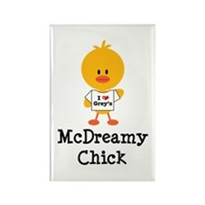 McDreamy Chick Rectangle Magnet (100 pack)