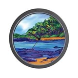 Leeward Breeze Wall Clock
