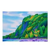 Waipio Beach, Hawaii Postcards (Package of 8)