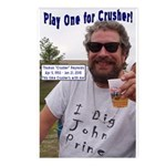 Play One For Crusher Postcards (Package of 8)