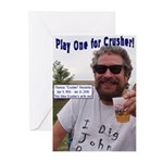 Play One For Crusher Greeting Cards (Pk of 20)