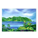 Kaneohe Bay, Hawaii Postcards (Package of 8)