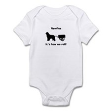 Newfoundland Draft Dog Infant Bodysuit