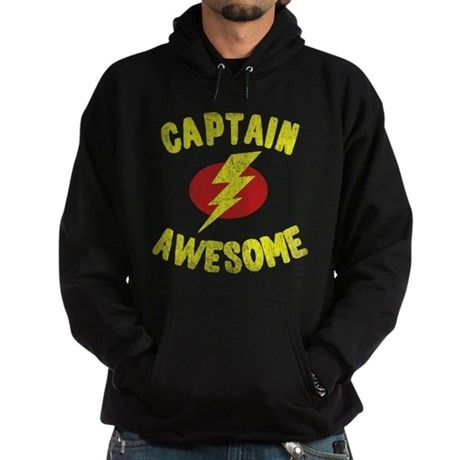 Captain Awesome Dark Hoodie