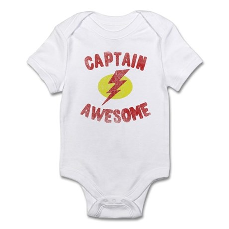 Captain Awesome Infant Bodysuit