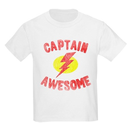 Captain Awesome Kids Light T-Shirt