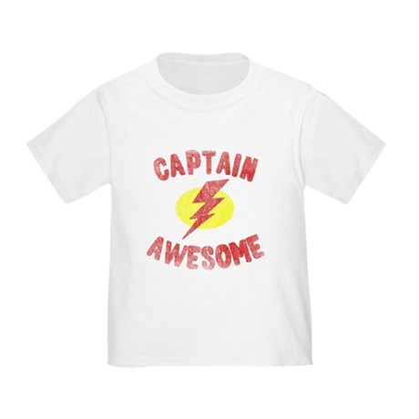 Captain Awesome Toddler T-Shirt