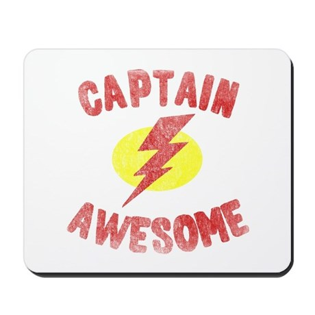 Captain Awesome Mousepad