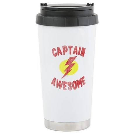Captain Awesome Ceramic Travel Mug