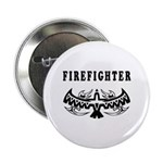 "Firefighter Tattoos 2.25"" Button"