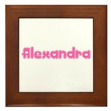 """Alexandra"" Framed Tile"