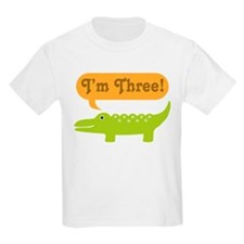 Alligator 3rd Birthday T-Shirt