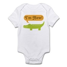 Alligator New Baby Infant Bodysuit