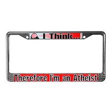 I Think... License Plate Frame