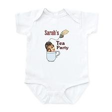 sarah's party Infant Bodysuit