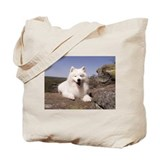 Funny Samoyed Tote Bag