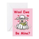 """Wool Ewe Be Mine?"" Greeting Cards (Pk of 10)"