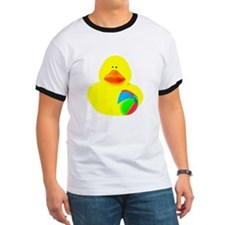 Ball Player Rubber Duck T