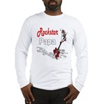 Rockstar Papa Long Sleeve T-Shirt