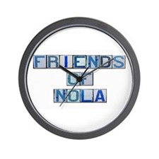 Friends of NOLA Wall Clock