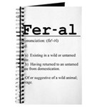 Feral Definition Journal
