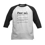 Feral Definition Kids Baseball Jersey