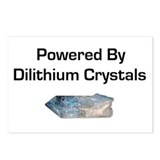Powered by dilithium crystals Postcards (Package o