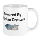 Powered by dilithium crystals Coffee Mug