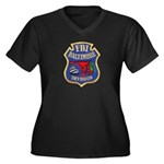 FBI Baltimore Division Women's Plus Size V-Neck Da
