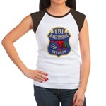 FBI Baltimore Division Women's Cap Sleeve T-Shirt
