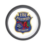 FBI Baltimore Division Wall Clock
