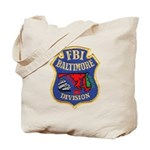 FBI Baltimore Division Tote Bag