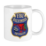 FBI Baltimore Division Mug