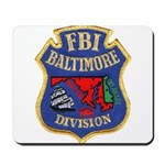 FBI Baltimore Division Mousepad