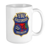 FBI Baltimore Division Large Mug