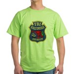 FBI Baltimore Division Green T-Shirt