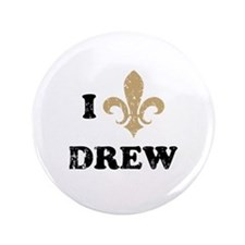 "I heart drew 3.5"" Button (100 pack)"