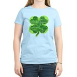 Giant Shamrock Happy Birthday Women's Light T-Shir