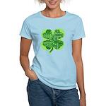 Giant Shamrock Happy Birthday Women's Light T-Shir