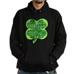 Giant Shamrock Happy Birthday Hoodie (dark)