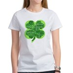 Giant Shamrock Happy Birthday Women's T-Shirt