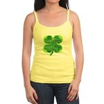 Giant Shamrock Happy Birthday Jr. Spaghetti Tank