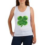 Giant Shamrock Happy Birthday Women's Tank Top