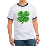 Giant Shamrock Happy Birthday Ringer T