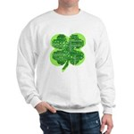 Giant Shamrock Happy Birthday Sweatshirt